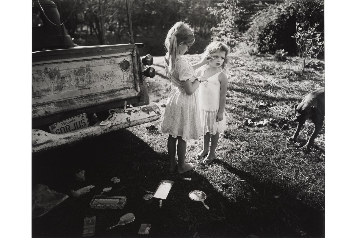 Sally Mann - Gorjus, 1989, photographer's children in Virginia