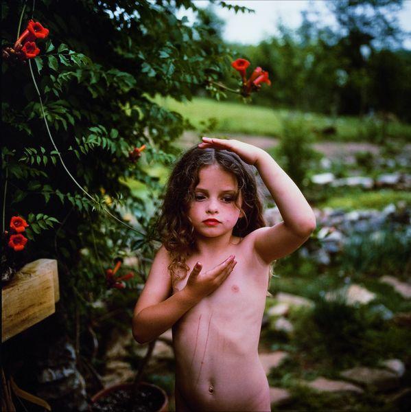 Trumpet Flowers, 1991, Mann's child