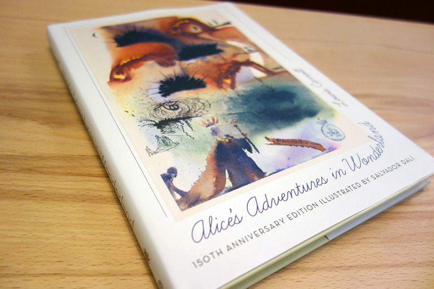 Salvador Dalí - Alice's Adventures in Wonderland; best books all time
