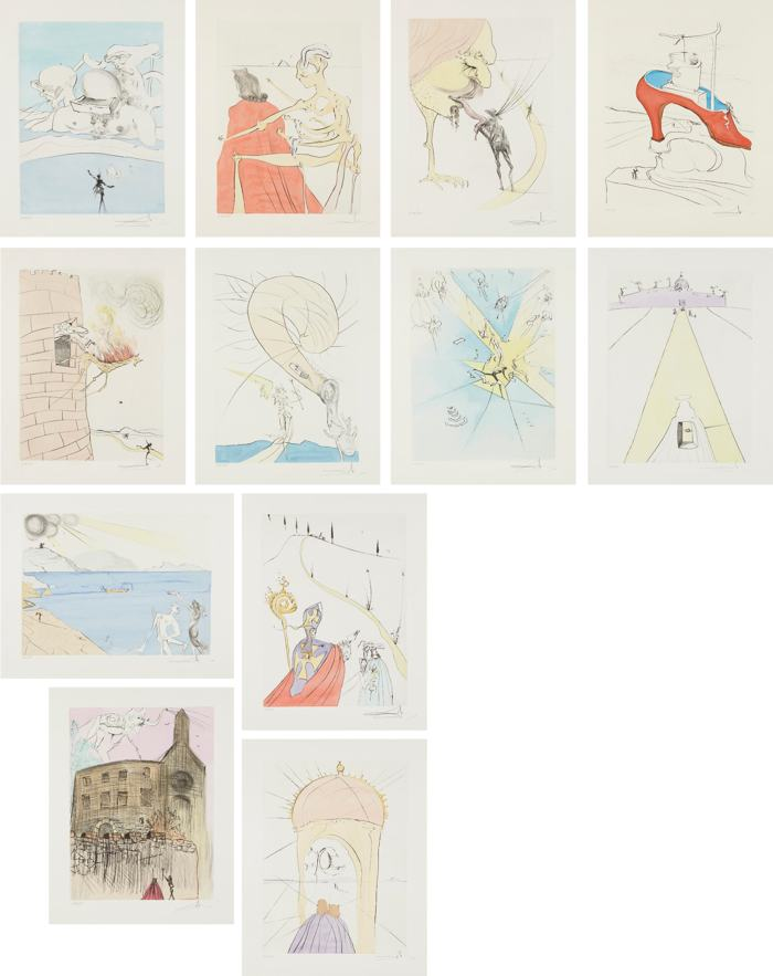 Salvador Dali-After Salvador Dali - 50 Years of Surrealism-1974