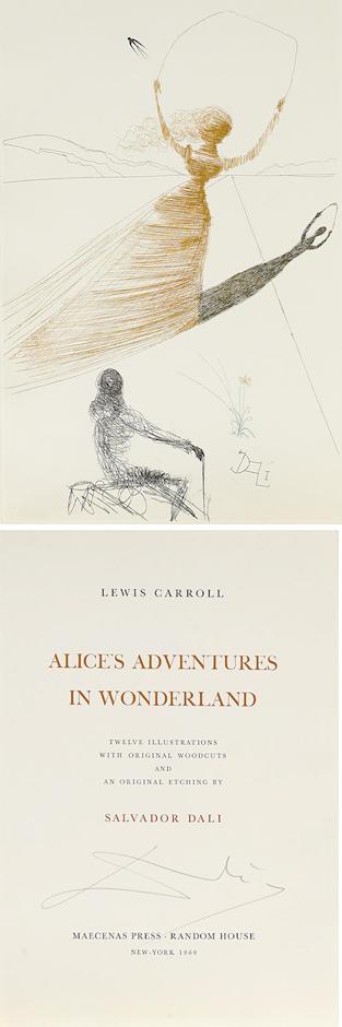 Salvador Dali-Alice's Adventures in Wonderland-1969