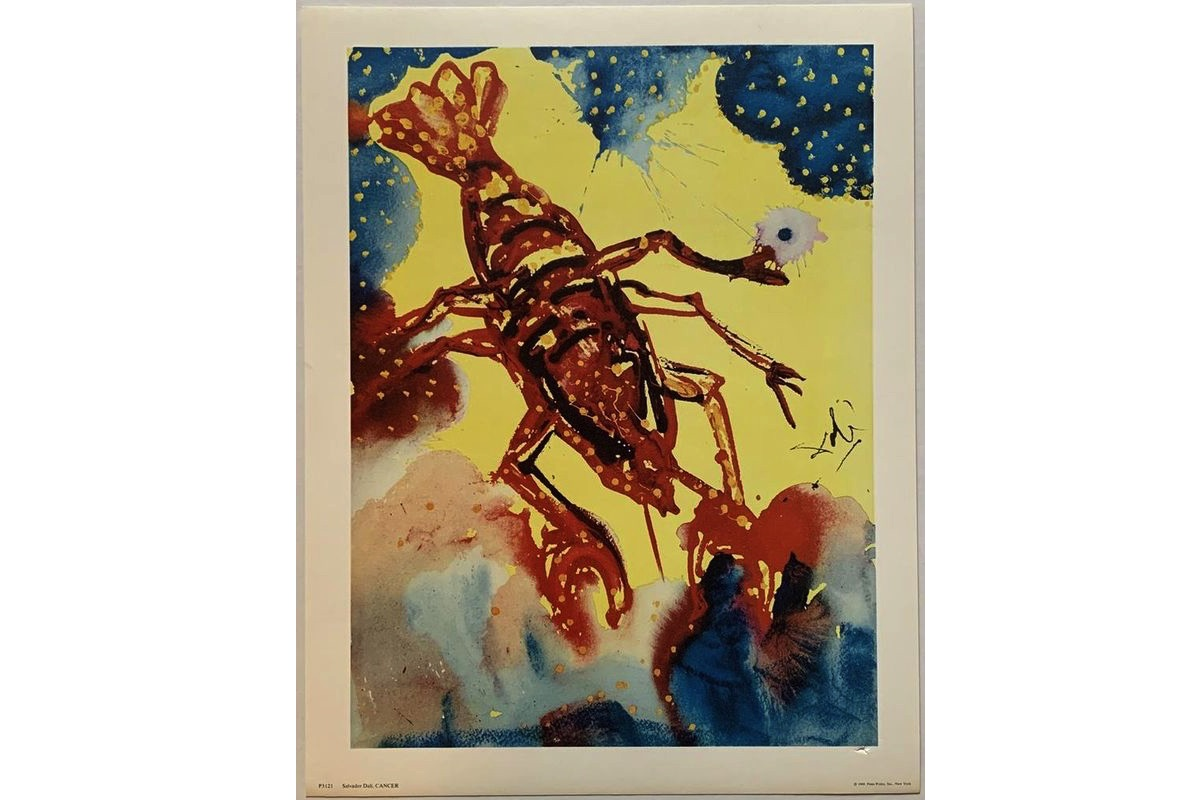 Salvador Dali - Cancer, 1969