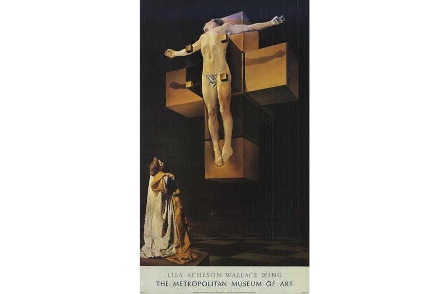 Salvador Dali - Crucifixion, 1987