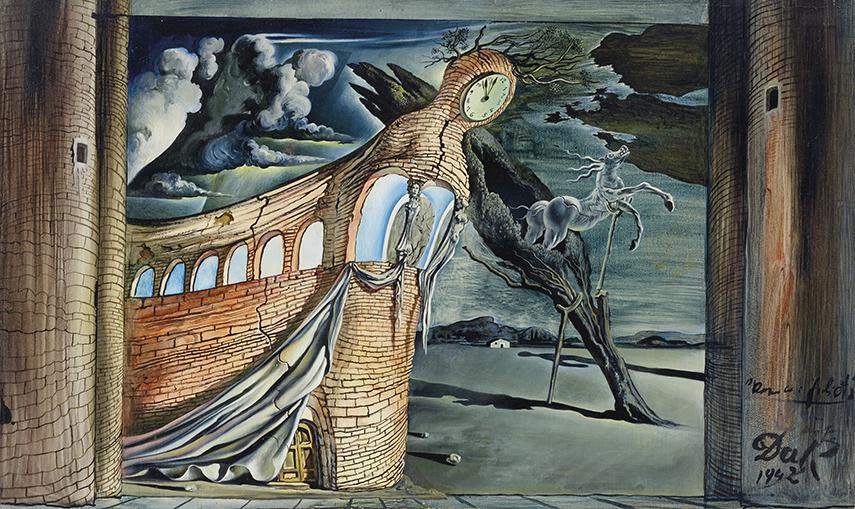 Salvador Dali - Decor pour Romeo et Juliette