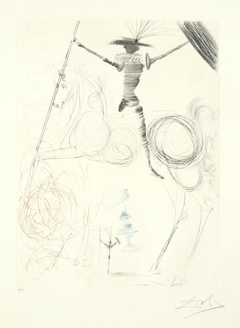 Salvador Dali-Don Quichotte-1970