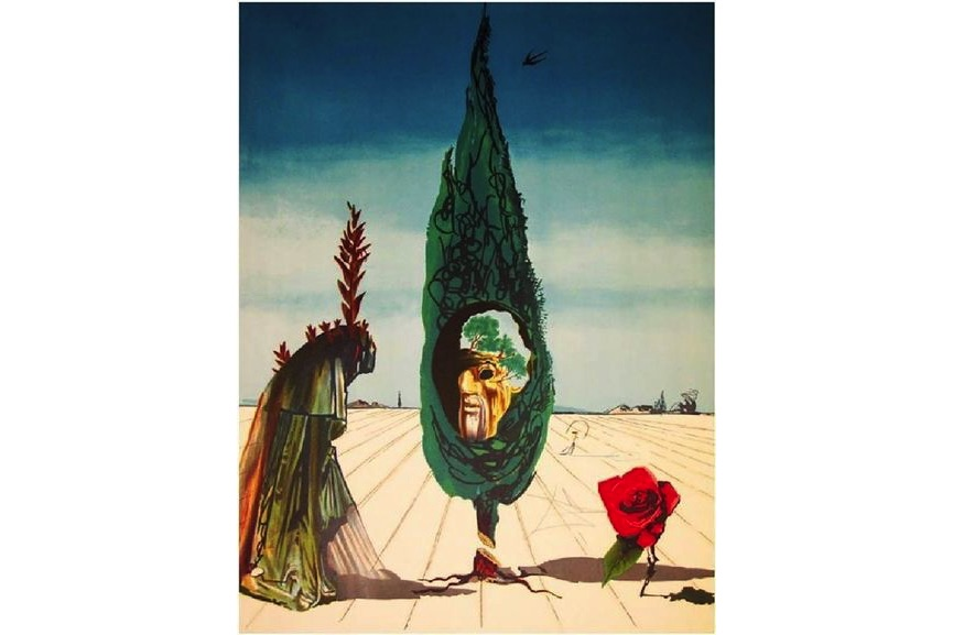 Enigma of the Rose (Death) from Visions Surrealiste, 1976