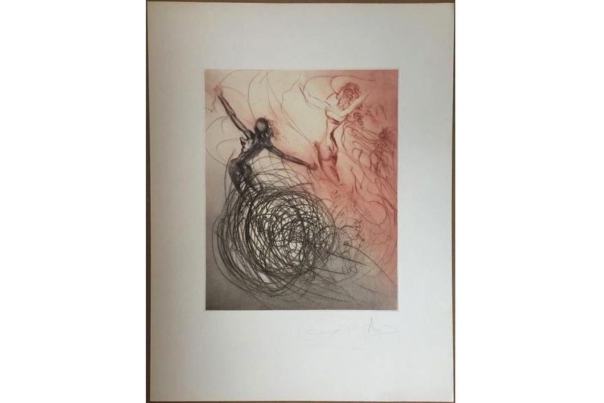 Salvador Dali - Femmes dans les vagues, 1969