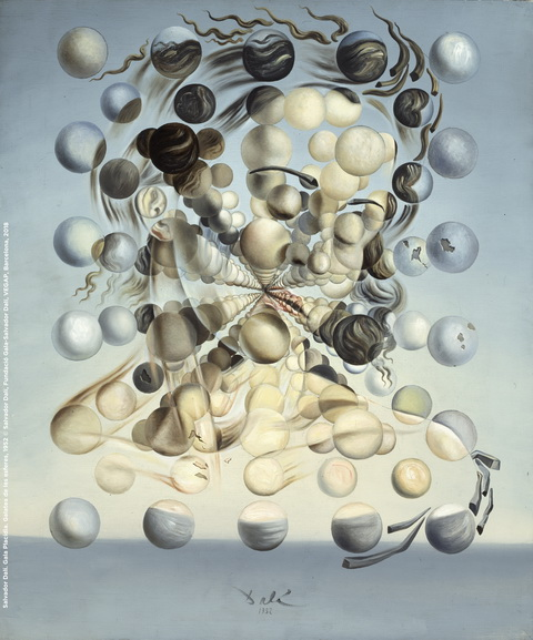 Salvador Dali - Gala Placidia Galatea of the Spheres
