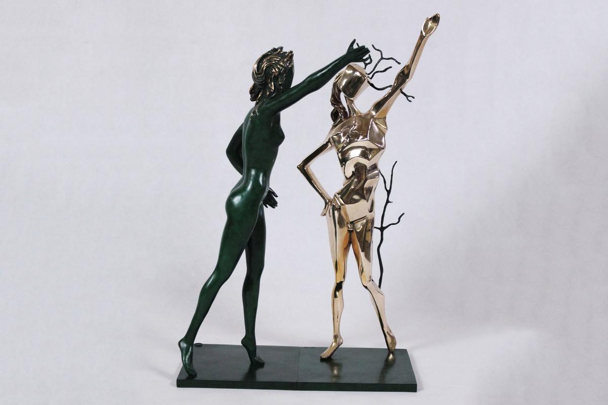 Salvador Dali - Hommage à Terpsichore