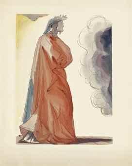Salvador Dali-La Divina Commedia (The Divine Comedy), Artie e Scienze, Salani, Italy-1964