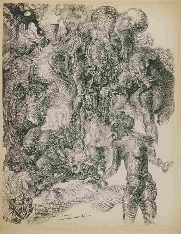 Salvador Dali-La Femme Visible-1930