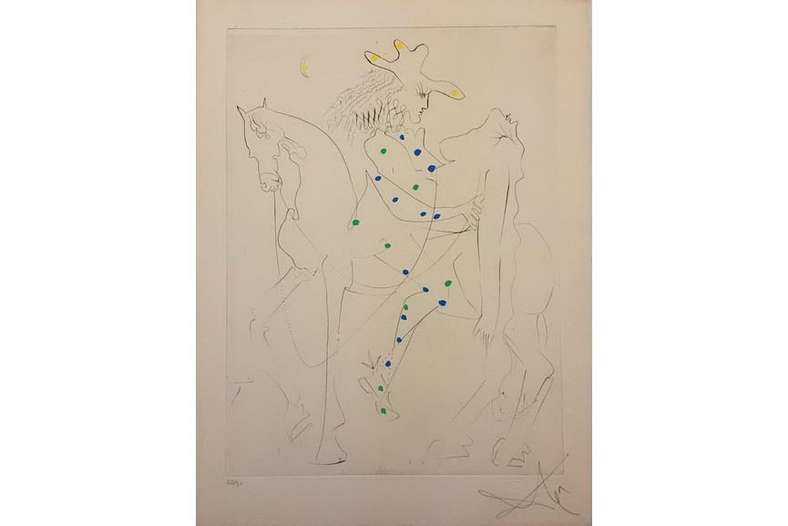 Salvador Dali - Le Cheval de Picasso