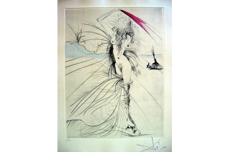 Salvador Dali - Les Aigrettes (The Egrets), 1969