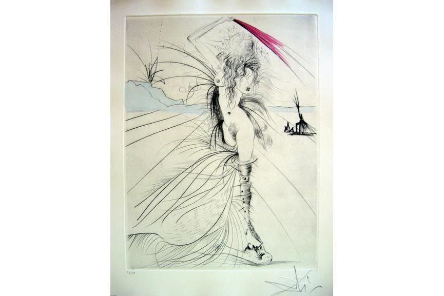 Salvador Dali - Les Aigrettes