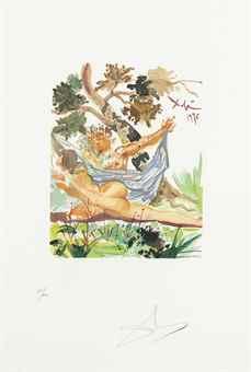 Salvador Dali-Ovid, L'Art d'aimer d'Ovide, Centre Culturel, Paris-1978