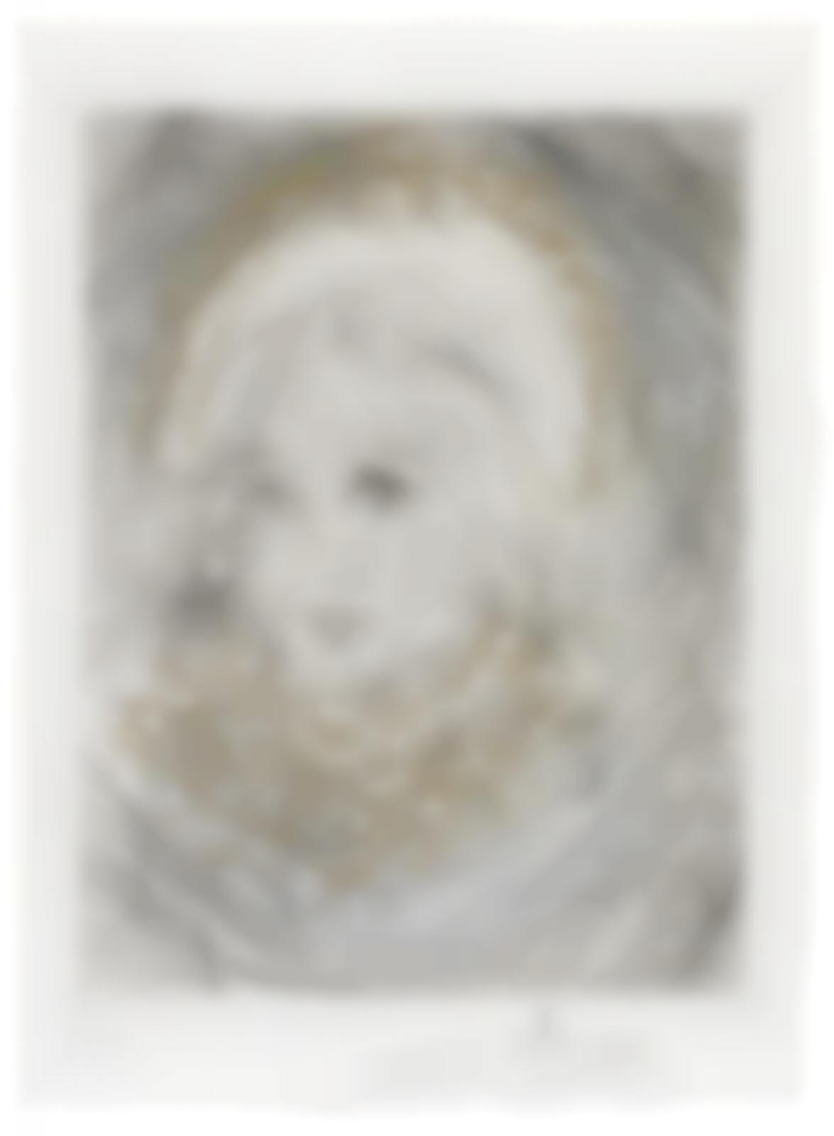 Salvador Dali-Portrait de Marguerite, from Faust-1969