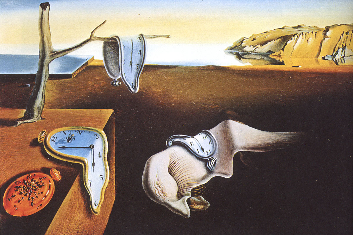 Time and Change in 10 Dali Paintings