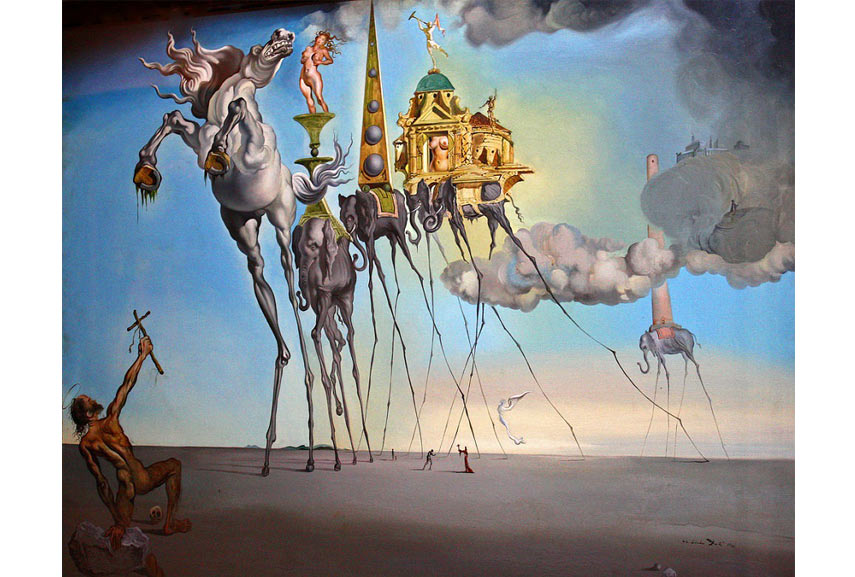 Contact us and search for a list of all The Temptation of Saint Anthony artworks in our dedicated section page, including the temptation of st. anthony (dalí)