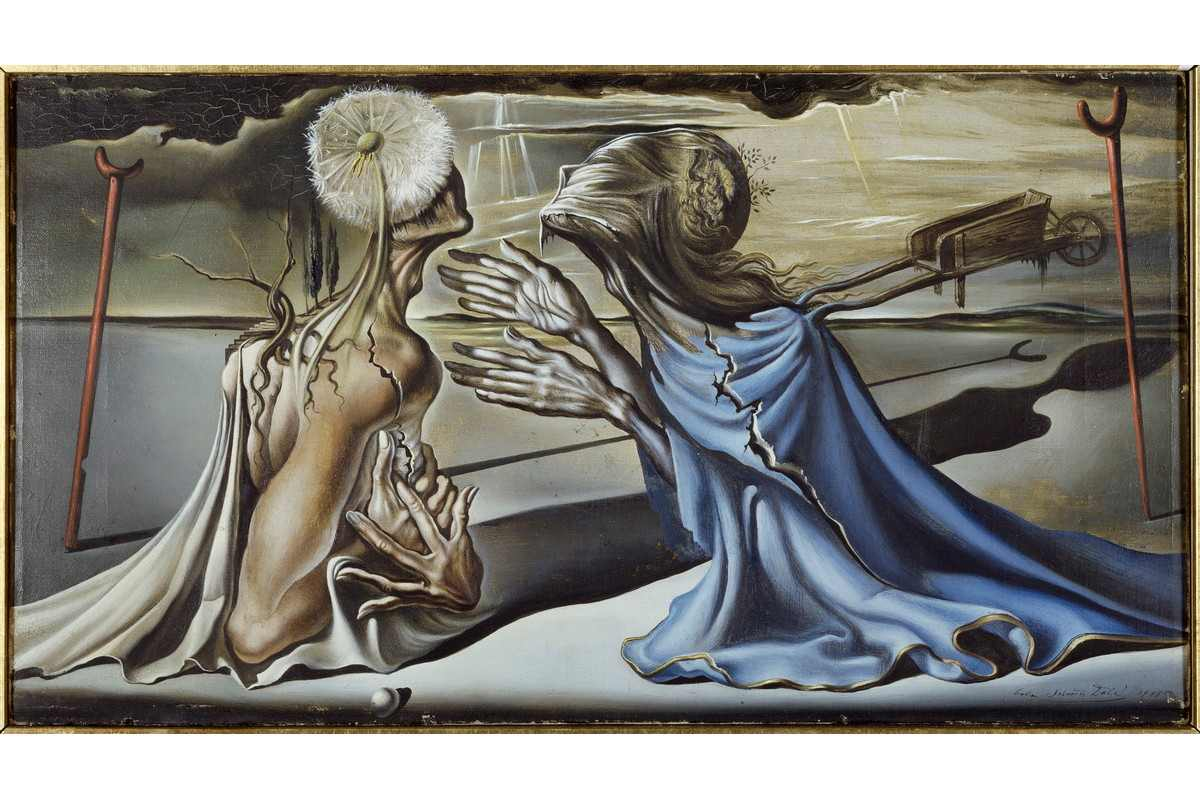 Salvador Dali - Tristan and Isolde