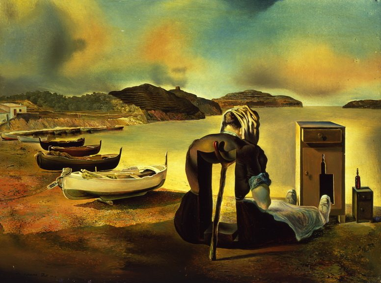 Salvador Dali - Weaning of Furniture Nutrition