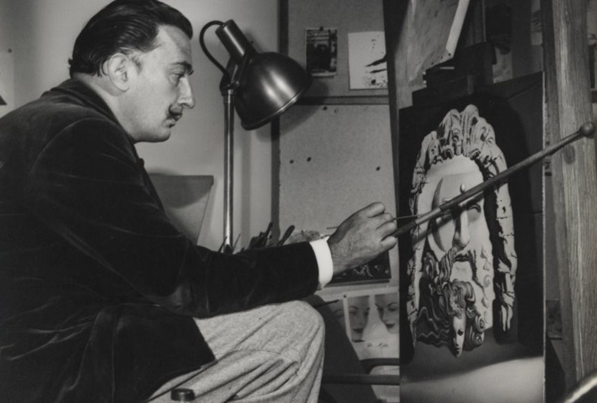 dalí often cited his wife gala as his muse