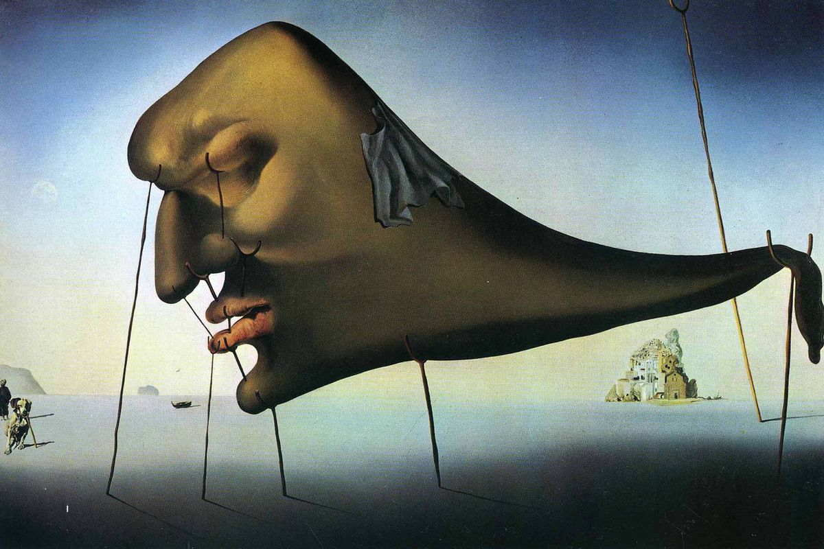 the painter of surrealism style