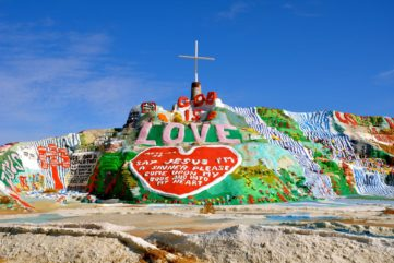 Salvation Mountain, California's Peculiar Art Site
