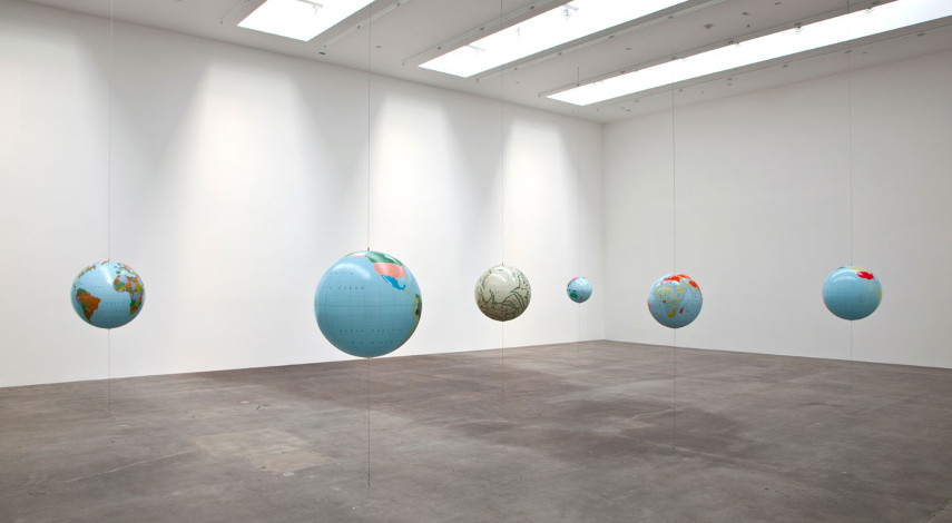 Sam Durant - Installation view at Blum & Poe Museum - Image via blumandpoecom