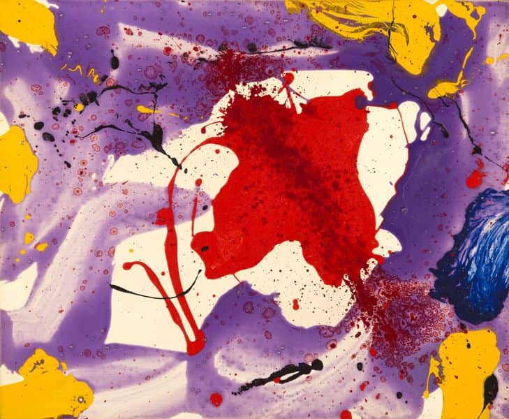 Sam Francis – Quiet Eye, 1968