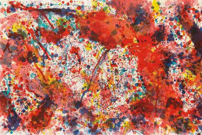 Sam Francis-And Pink-1973