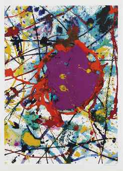 Sam Francis-Composition-1991