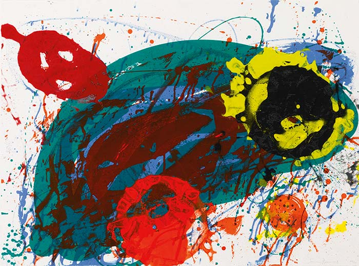 Sam Francis-For 13-1989