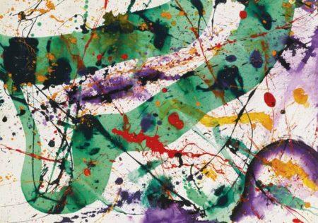 Sam Francis-Serpent #11-1990