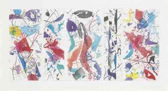 Sam Francis-The Five Continents in Summertime-1984