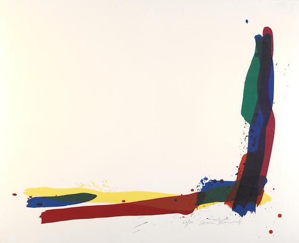 Sam Francis-Turn-1972