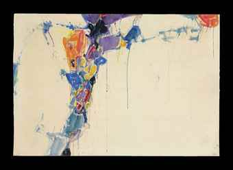 Sam Francis-Untitled-1957