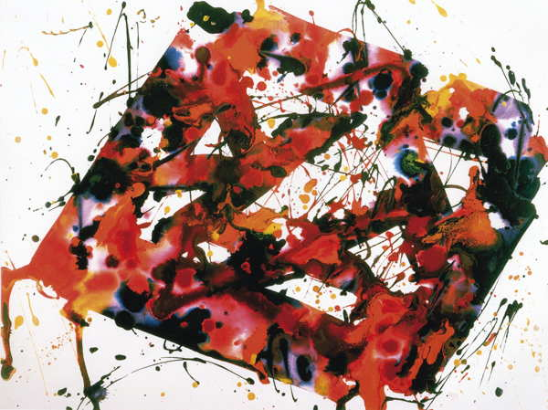 Sam Francis-Untitled-1976