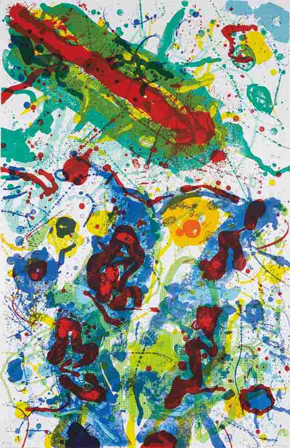 Sam Francis-Untitled SF-341-1989