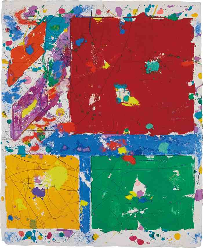 Sam Francis-Untitled (SFM 81-013)-1981