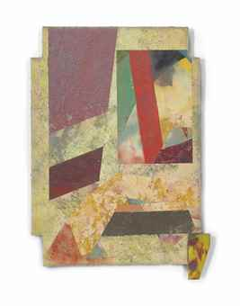 Sam Gilliam-Composition for Brown Bag-1982
