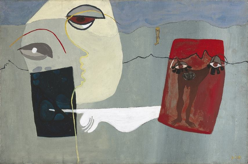 Sam Haile - Woman and Suspended Man