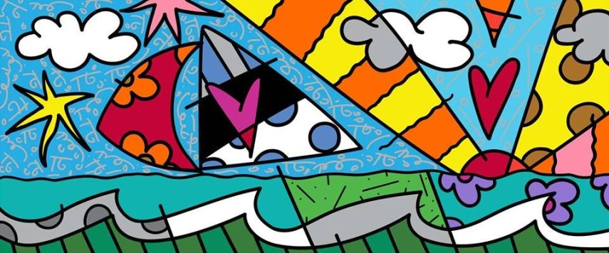 Romero Britto is Suing Apple for Stealing his Style