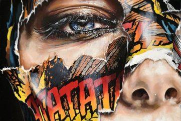 Sandra Chevrier - La Cage, opium de tous les silences (detail)