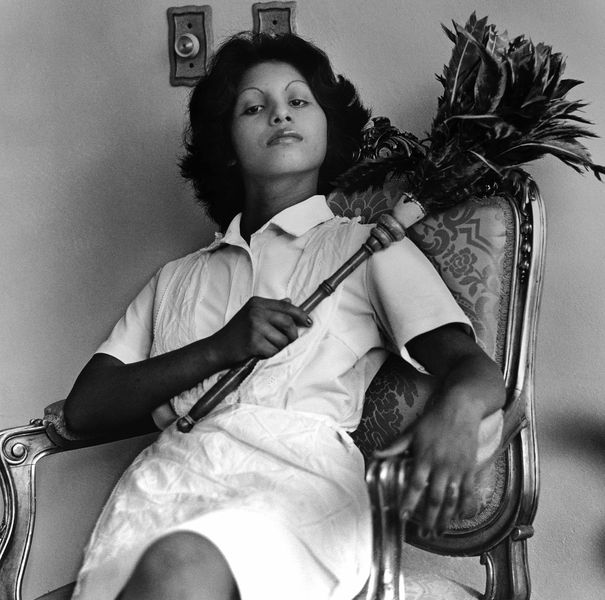Sandra Eleta - Edita (la del plumero), Panamá (Edita [the one with the feather duster], Panama), 1977