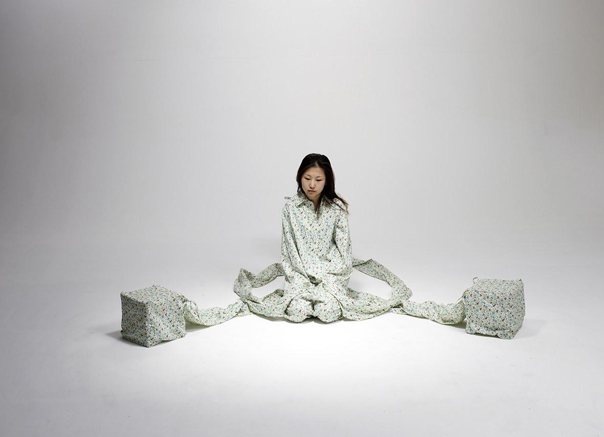 Sandra Kunz-Three Stools #2-2012