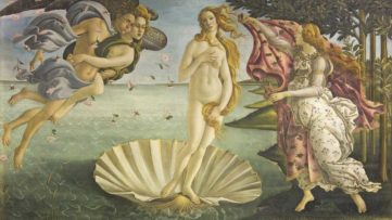 Sandro Botticelli - Birth of Venus