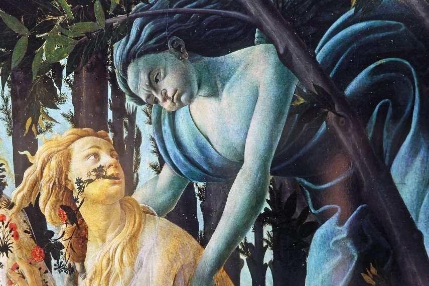 Botticelli - Primavera detail