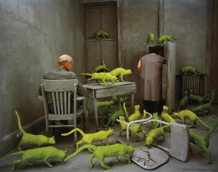 Sandy Skoglund-Radioactive Cats-1980