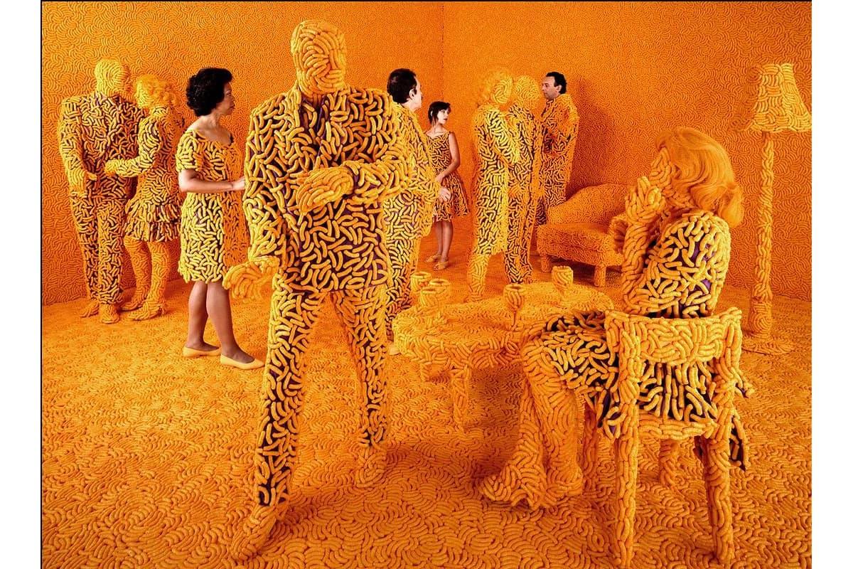 Sandy Skoglund - The Cocktail Party, 1992