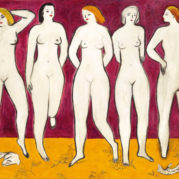 Sanyu - Five Nudes